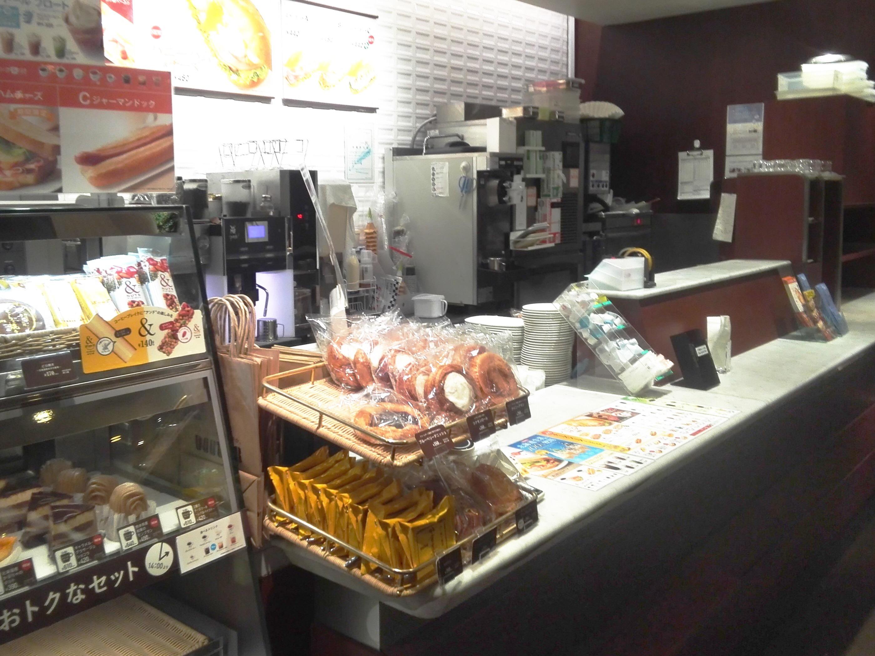 ドトール・コーヒーショップ イオン東神奈川店のレジ