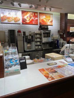 ドトール・コーヒーショップ 大岡山店の新カウンター