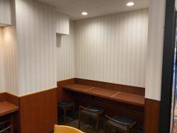 ドトール・コーヒーショップ 大岡山店の喫煙スペース裏